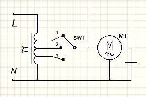 Регулировка скорости асинхронного двигателя