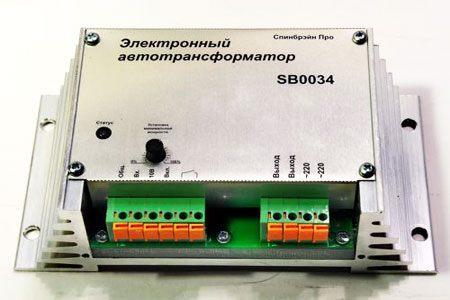 Электронный трансформатор для двигателя вентилятора