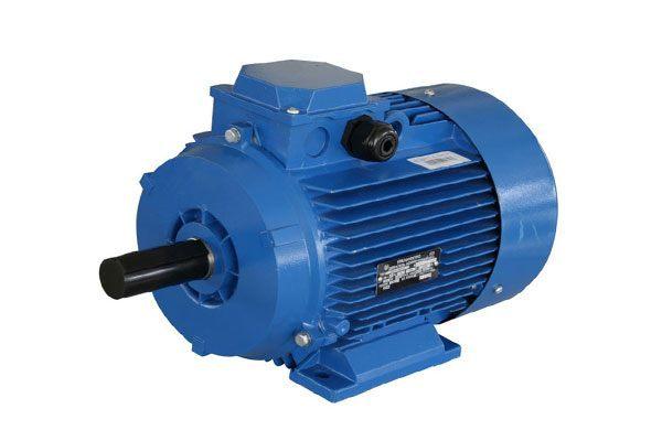 Конденсаторный двигатель с фазосдвигающей обмоткой