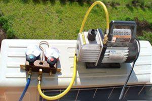 Вакуумирование системы при установке кондиционера кондиционер panasonic лада калина
