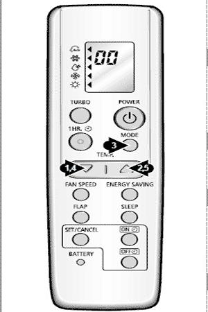 кондиционер Sanyo инструкция к пульту - фото 8