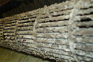 Скопление грибков на вентиляторе кондиционера