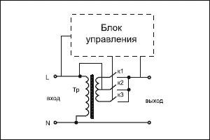 Схема тиристорного стабилизатора напряжения фото 764