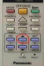 Пульт управления Panasonic без кнопки CHECK